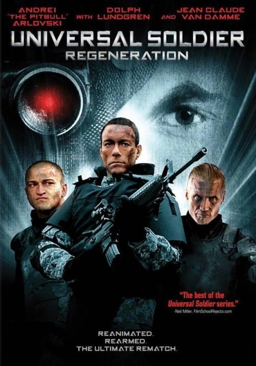 Soldado universal: Regeneración : Cartel