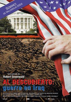 Al descubierto: guerra en Irak : cartel