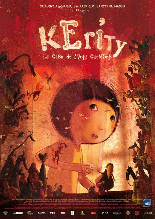 Kerity, la casa de los cuentos : Cartel