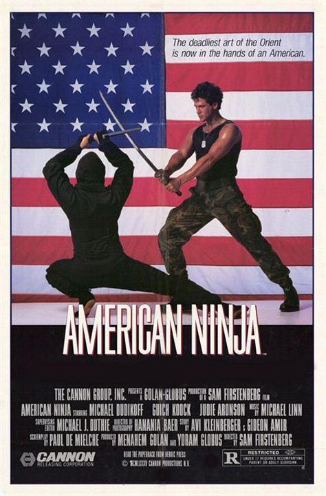 El guerrero americano : Cartel