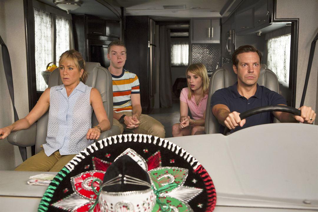 Somos los Miller : Foto Emma Roberts, Jason Sudeikis, Jennifer Aniston, Will Poulter