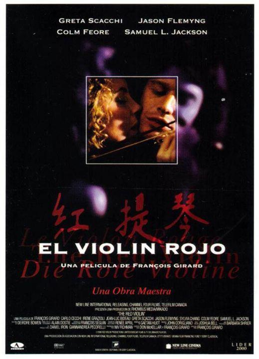 El violín rojo : Cartel