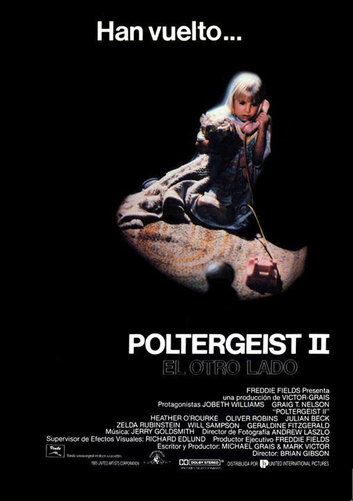 Poltergeist II: El otro lado : cartel