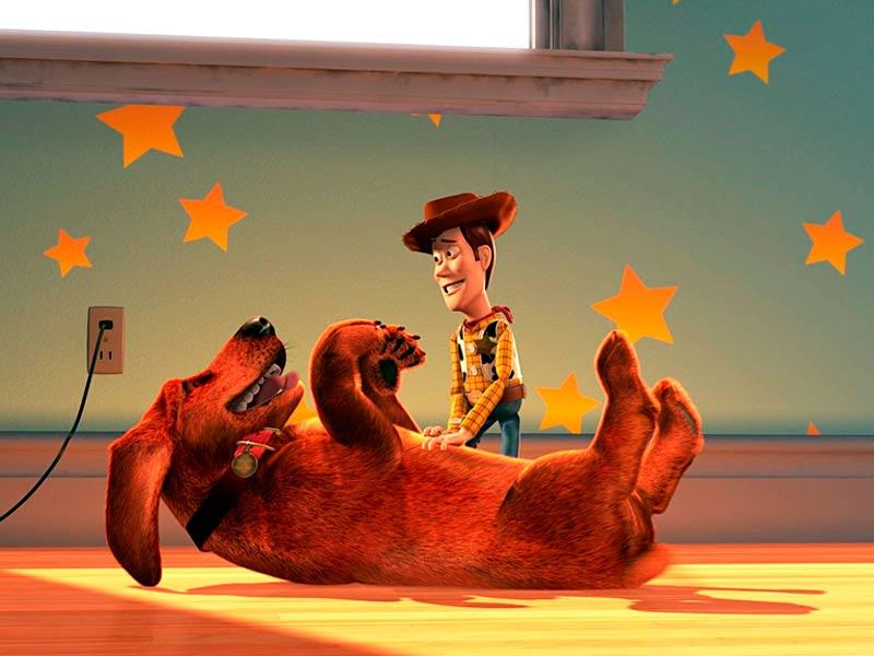 Woody y Buster