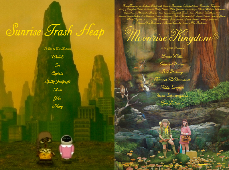 Wall-E / Moonrise Kingdom