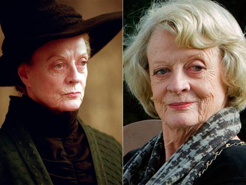 Maggie Smith es Minerva McGonagall