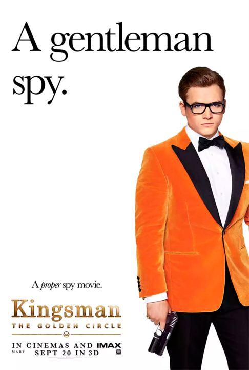 'Kingsman: El círculo de oro': Taron Egerton, Colin Firth y Julianne Moore, entre los protagonistas de los pósteres individuales