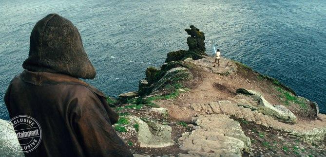 Luke Skywalker y Rey