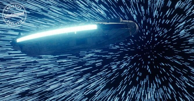 Una de las naves de la película