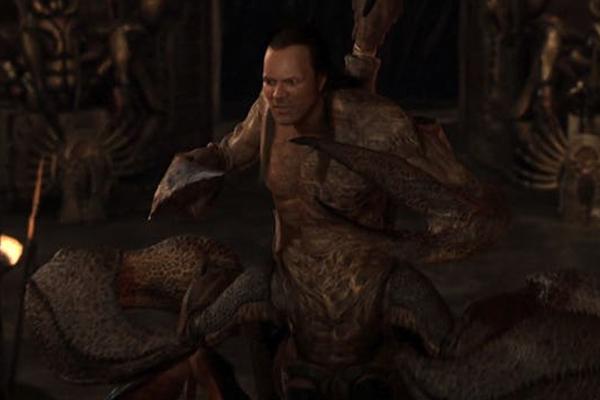 Dwayne Johnson como el Rey Escorpión