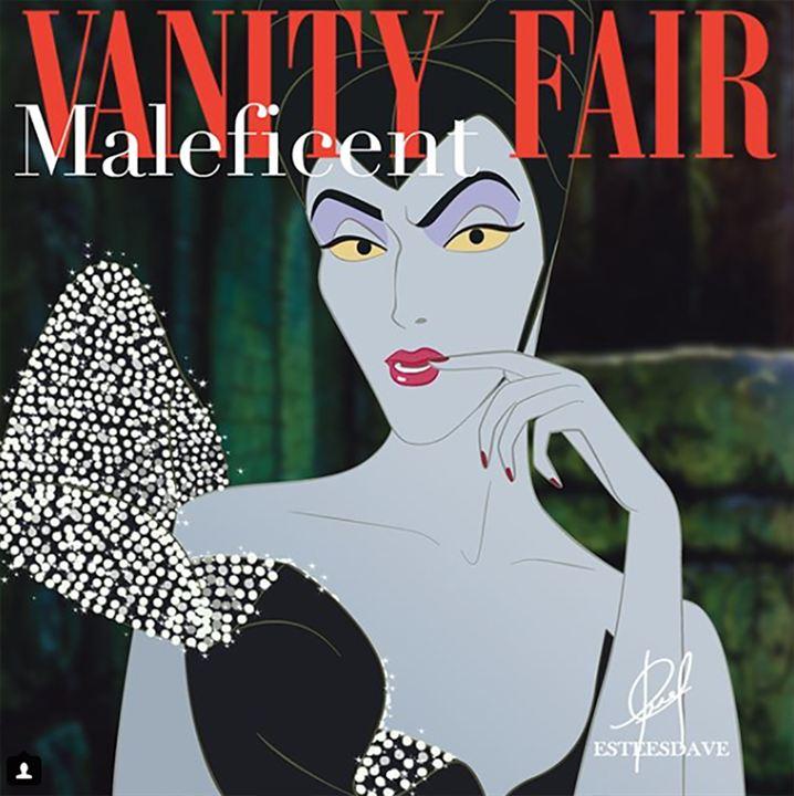 Maléfica en la portada de Vanity Fair