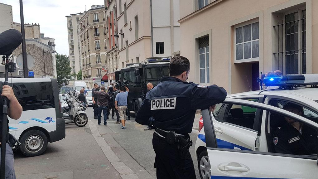 En las plenas calles de París