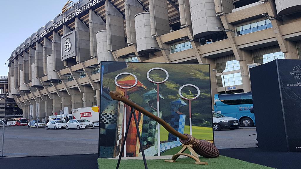 Nimbus 2000, Estadio Santiago Bernabéu