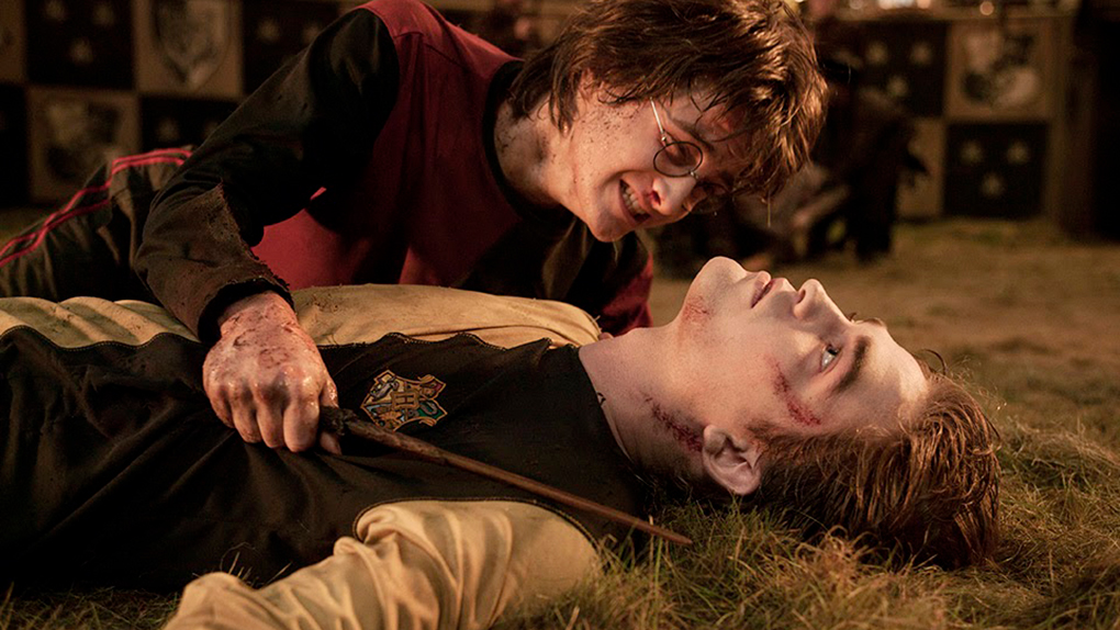 La muerte de Cedric Diggory. Eterna.