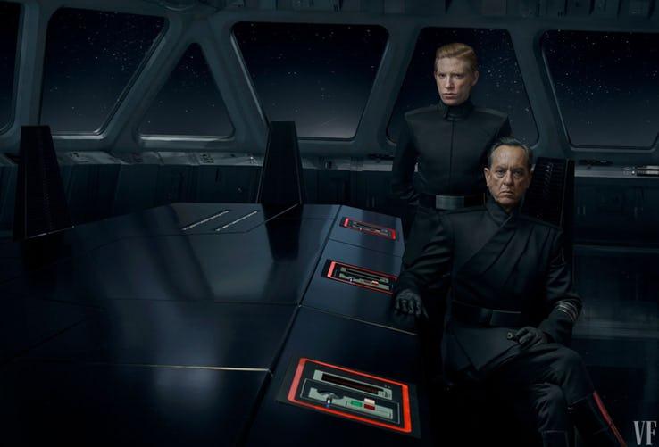General Hux y el General Pryde