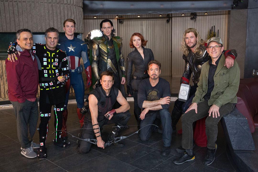 De nuevo como los Vengadores de 2012