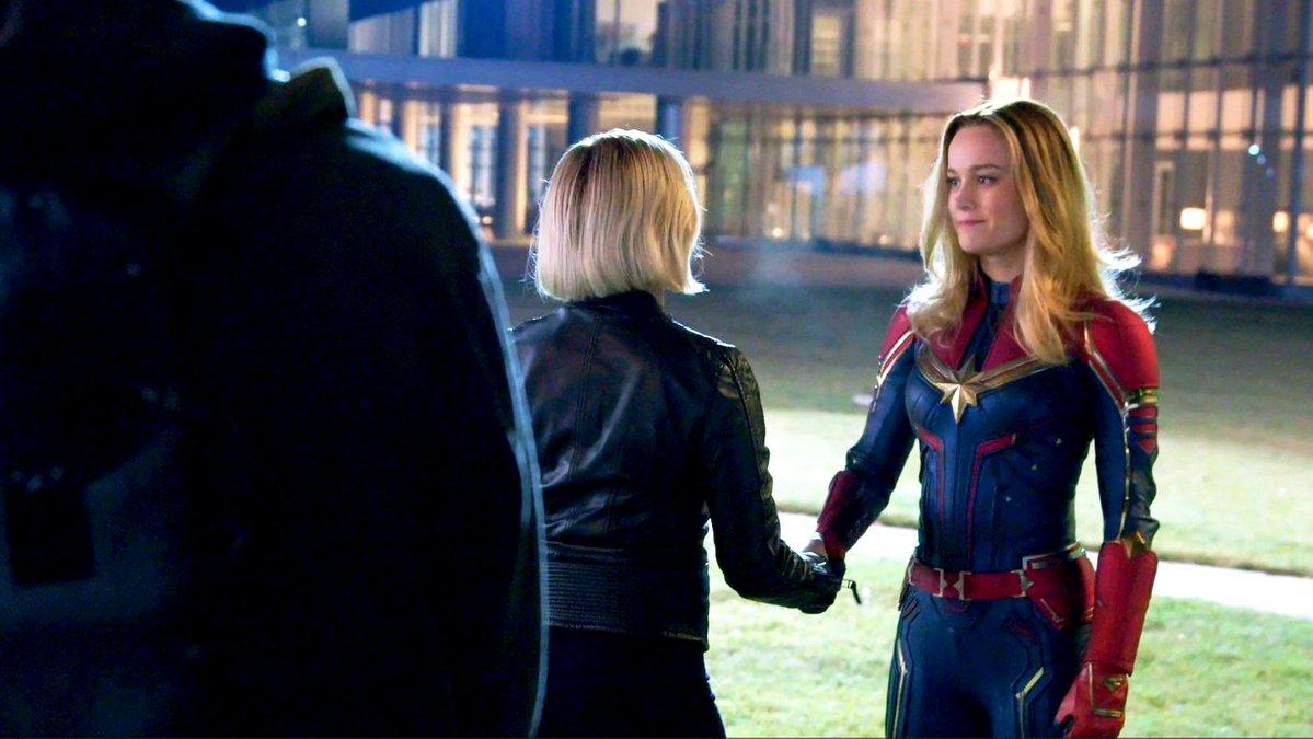 Scarlett Johansson y Brie Larson