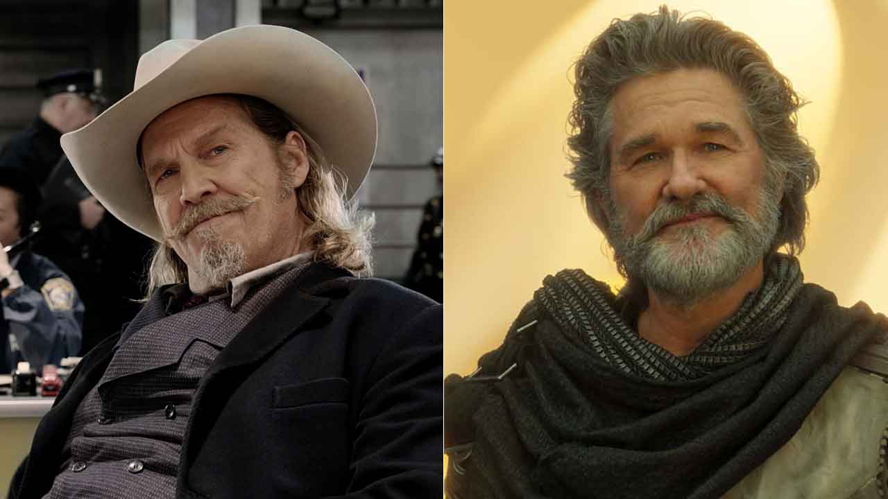 Jeff Bridges y Kurt Russell