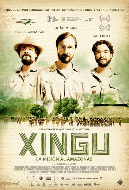 Xingu. La misión al amazonas : Cartel