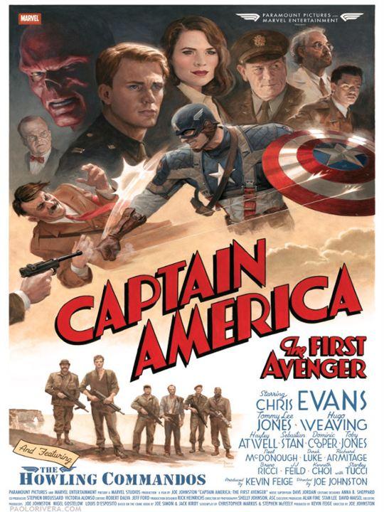 Capitán América: El primer vengador : Cartel