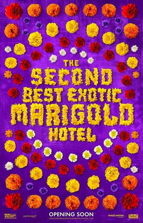 El nuevo exótico Hotel Marigold : Cartel