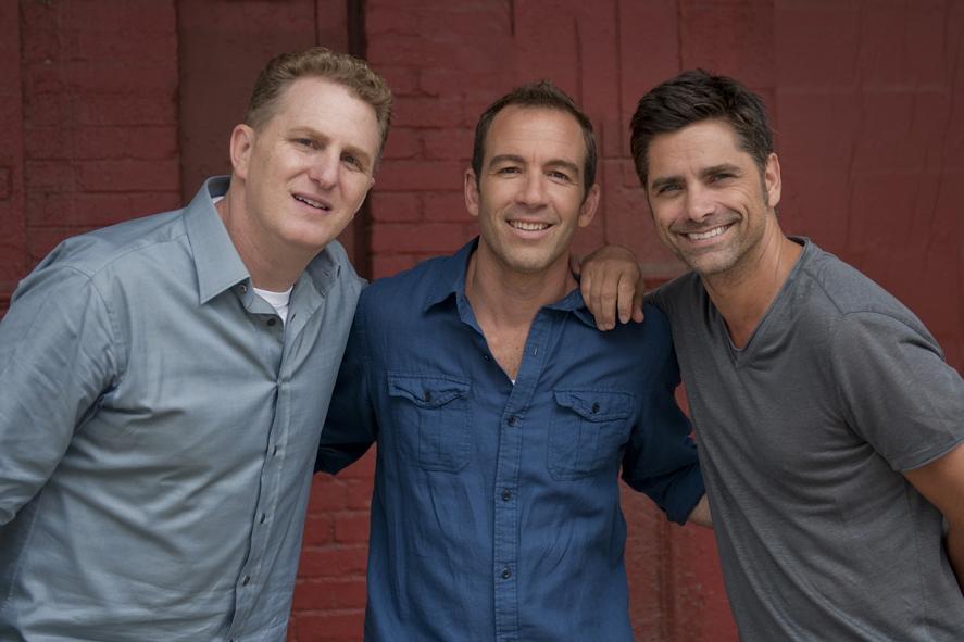 Foto Bryan Callen, John Stamos, Michael Rapaport
