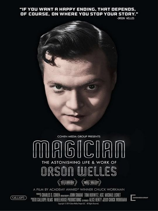 Magician: The Astonishing Life And Work Of Orson Welles : Cartel