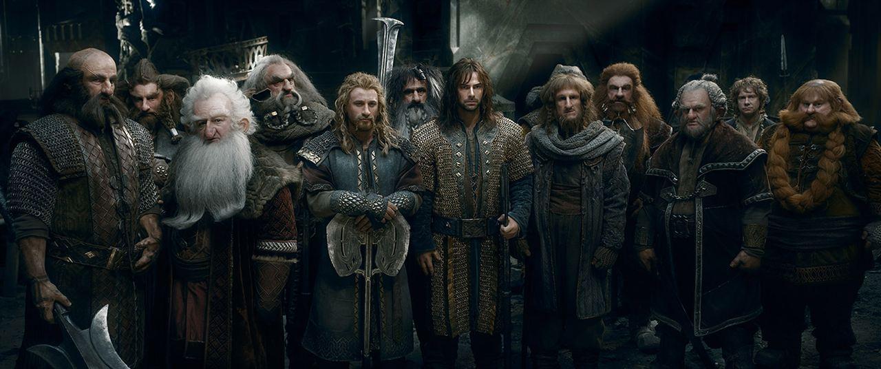 El hobbit: La batalla de los cinco ejércitos : Foto Aidan Turner, Billy Connolly, Dean O'Gorman, Graham McTavish, Jed Brophy