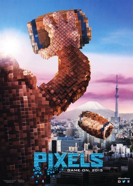 Pixels : Cartel
