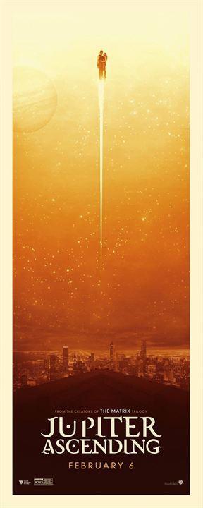 El destino de Júpiter : Cartel