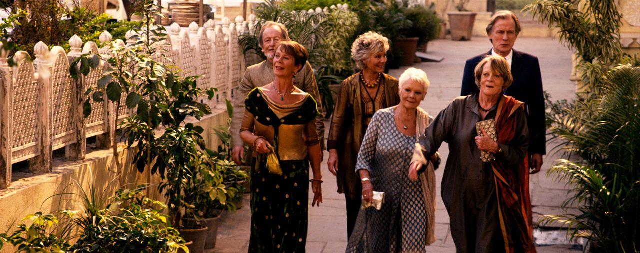 El nuevo exótico Hotel Marigold : Foto Bill Nighy, Celia Imrie, Diana Hardcastle, Judi Dench, Maggie Smith