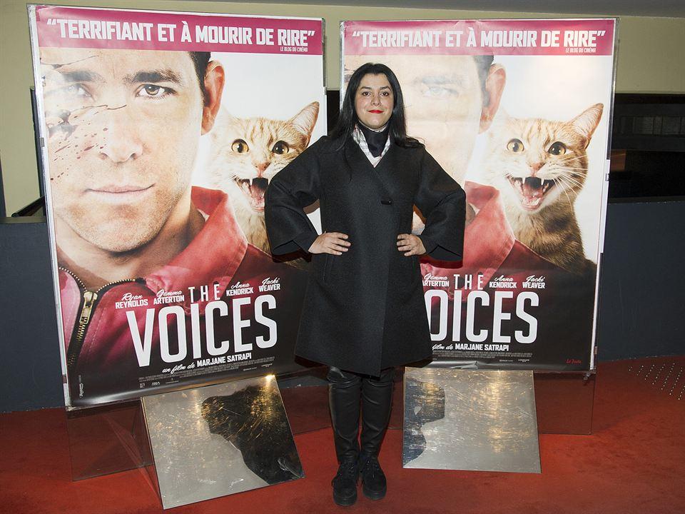 The Voices : Couverture magazine Marjane Satrapi