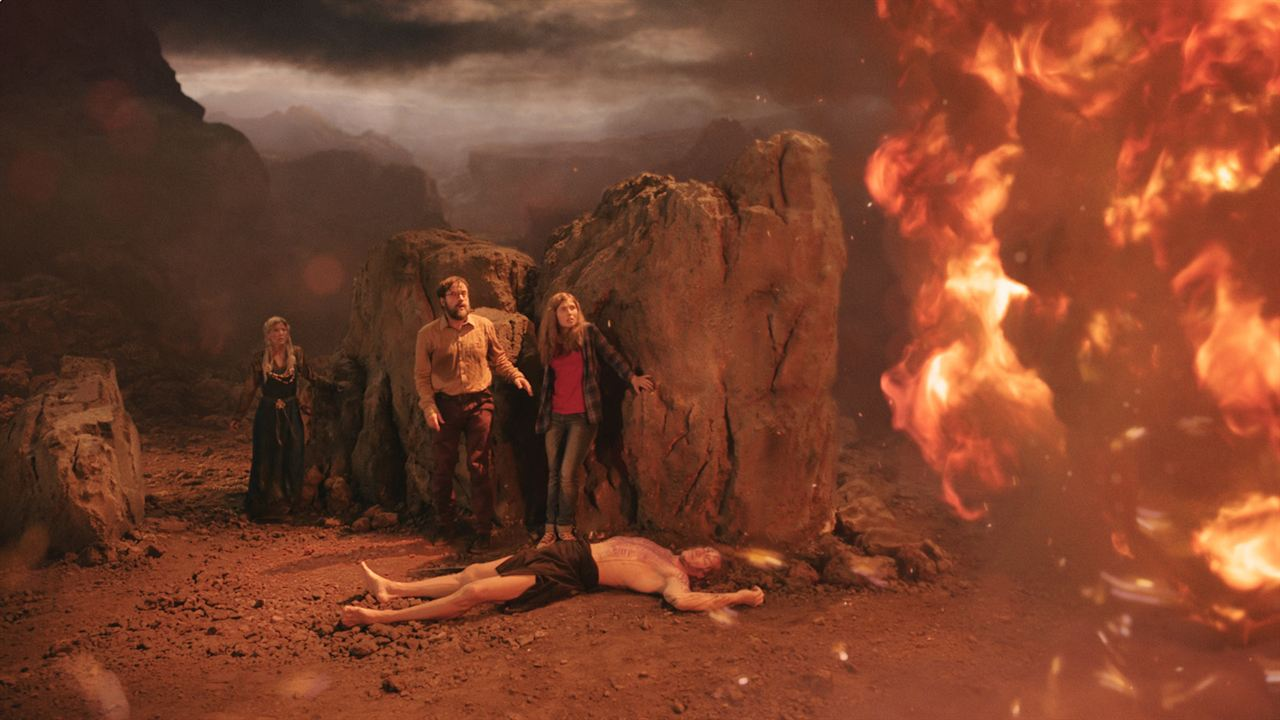Mara y el señor del fuego : Foto Alex Simon, Eva Habermann, Jan Josef Liefers, Lilian Prent