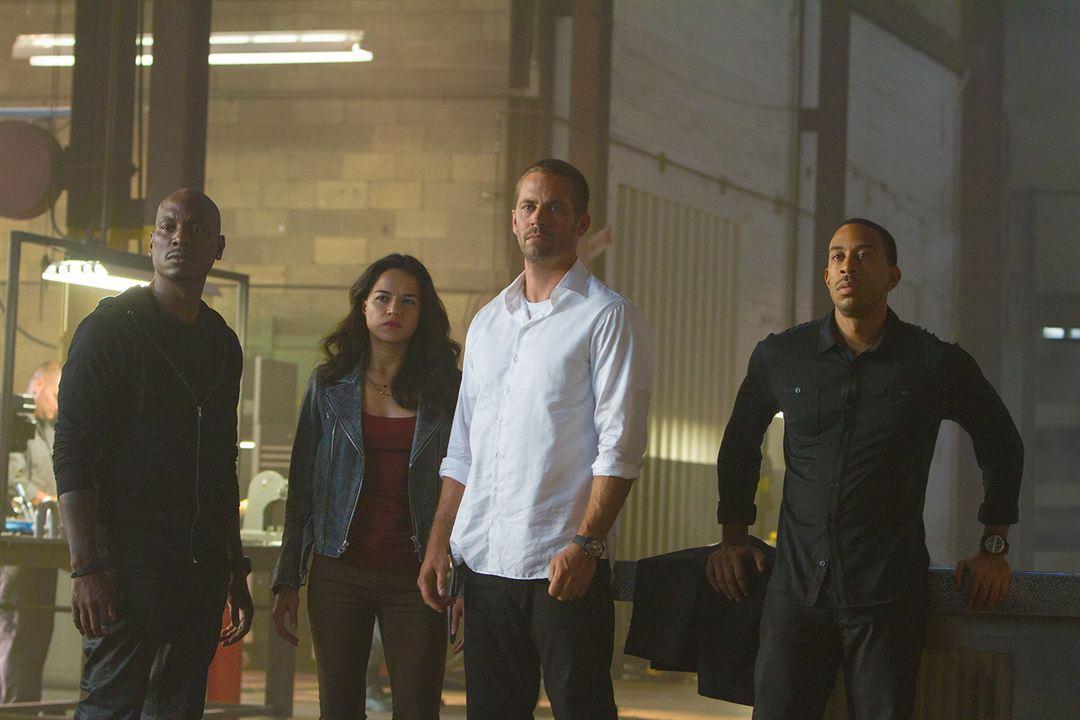 Fast & Furious 7 : Foto Ludacris, Michelle Rodriguez, Paul Walker, Tyrese Gibson