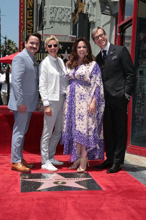 Couverture magazine Ben Falcone, Ellen DeGeneres, Melissa McCarthy, Paul Feig