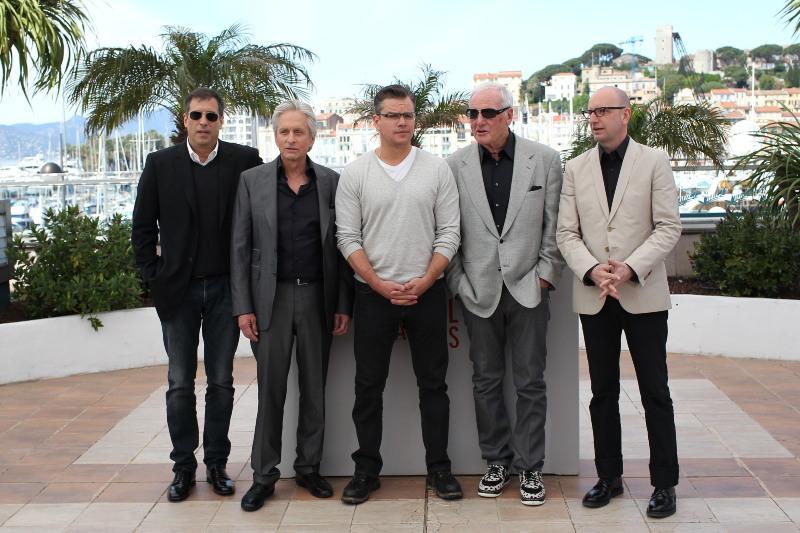 Behind the Candelabra : Couverture magazine Jerry Weintraub, Matt Damon, Michael Douglas, Richard LaGravenese, Steven Soderbergh