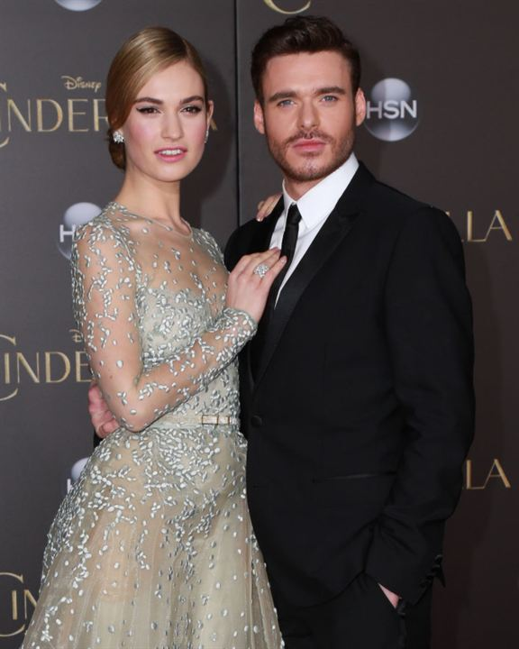 Cenicienta : Couverture magazine Lily James, Richard Madden