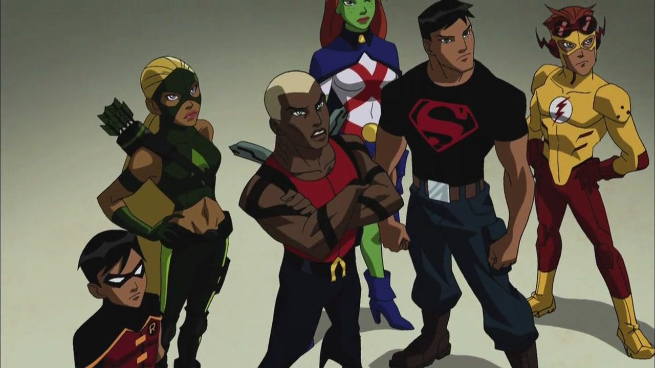 La Joven Liga de la Justicia : Foto