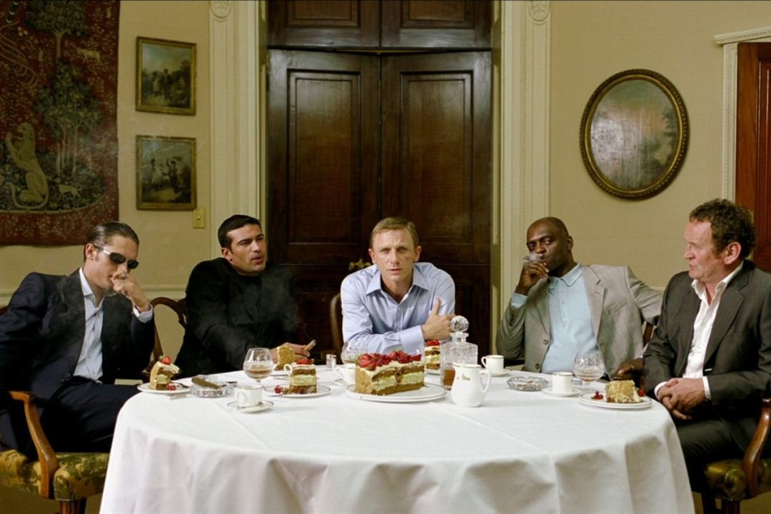 Layer Cake - Crimen Organizado : Foto Colm Meaney, Daniel Craig, George Harris