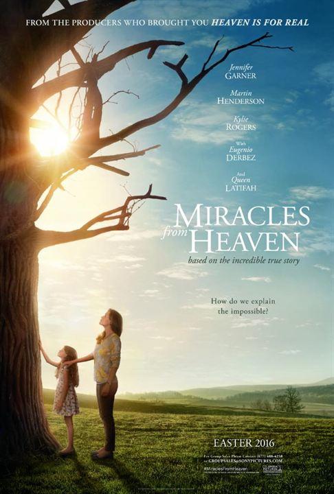Los milagros del cielo : Cartel