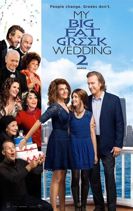 Mi gran boda griega 2 : Cartel