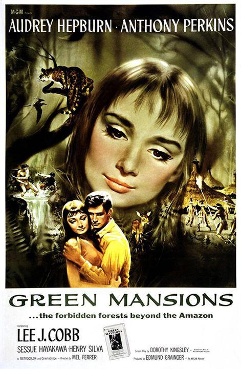 Mansiones verdes : Cartel