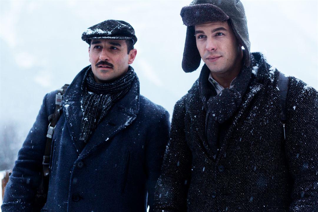 Palmeras en la nieve : Foto Alain Hernández, Mario Casas