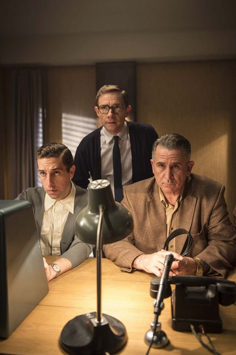 The Eichmann Show : Foto Anthony LaPaglia, Dylan Edwards, Martin Freeman