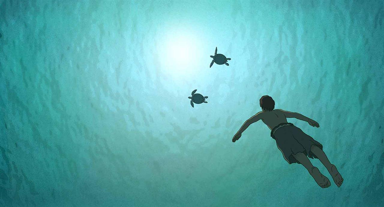 La tortuga roja : Foto