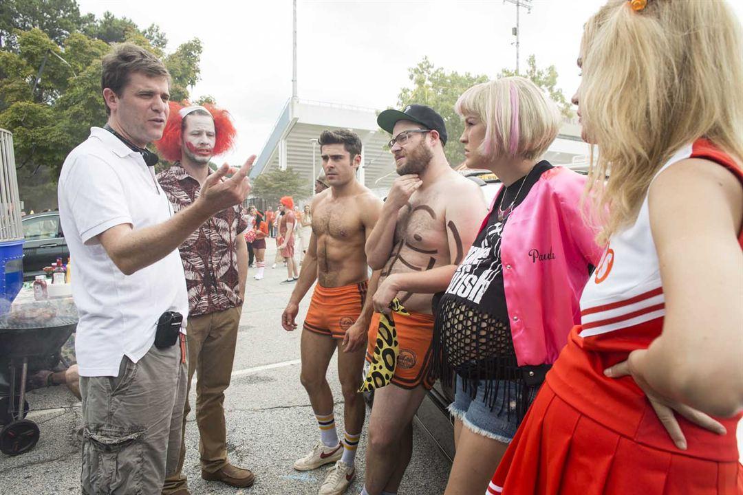 Malditos vecinos 2 : Foto Ike Barinholtz, Nicholas Stoller, Rose Byrne, Seth Rogen, Zac Efron