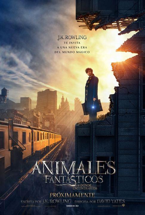 poster de la pelicula animales fantasticos