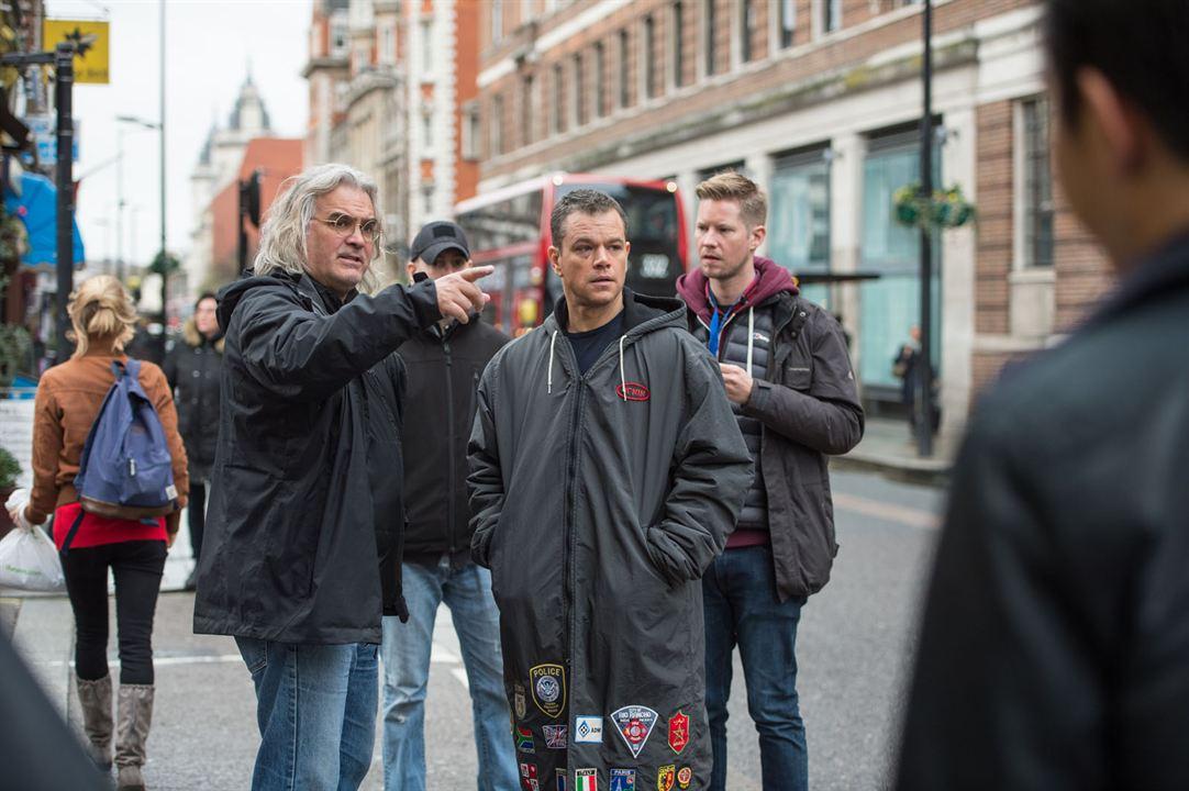 Jason Bourne : Foto Matt Damon, Paul Greengrass