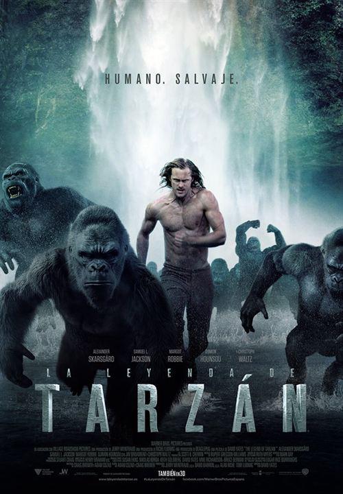 La leyenda de Tarzán : Cartel