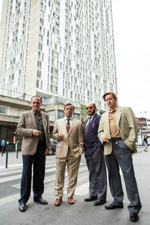 El Hombre de las mil caras : Foto Carlos Santos, Eduard Fernández, Jim Arnold, José Coronado
